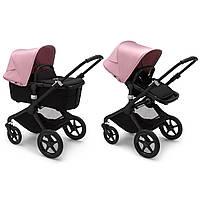 Коляска 2в1 Bugaboo Fox 2 / Black + Soft Pink