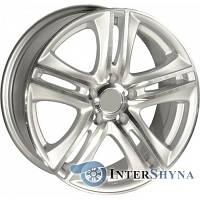 Литые диски Sportmax Racing SR-392 6.5x15 5x112 ET38 DIA67.1 Hyper Silver (Cупер серебро)
