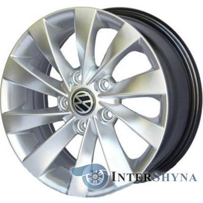 Литые диски Replica Volkswagen CT1320 8x18 5x112 ET41 DIA66.6 HS, фото 2