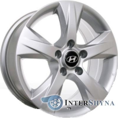 Литые диски Replica Hyundai HY101 7x16 5x114.3 ET45 DIA67.1 S