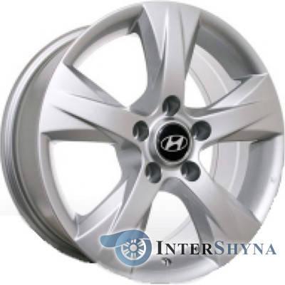 Литые диски Replica Hyundai HY101 7x16 5x114.3 ET45 DIA67.1 S, фото 2