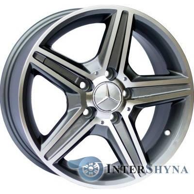 Литые диски Replica Mercedes CT1455 8x18 5x112 ET45 DIA66.6 GMF, фото 2