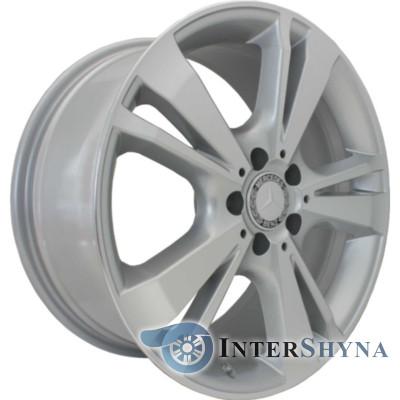 Replica Mercedes CT1451 8.5x18 5x112 ET45 DIA66.6 Сріблястий з алмазної механічною обробкою лицьової поверхні