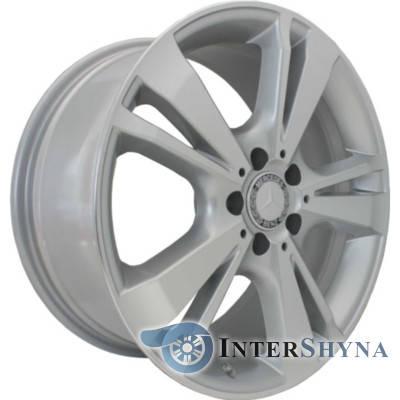 Replica Mercedes CT1451 8.5x18 5x112 ET45 DIA66.6 Сріблястий з алмазної механічною обробкою лицьової поверхні, фото 2