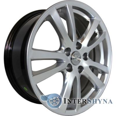 Replica Toyota CT3322 7.5x18 5x114.3 ET45 DIA67.1 Hyper Silver (Супер срібло)