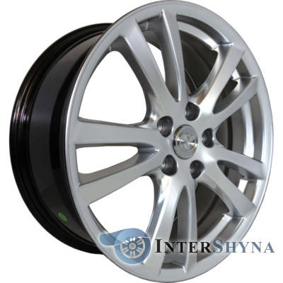 Replica Toyota CT3322 7.5x18 5x114.3 ET45 DIA67.1 Hyper Silver (Супер срібло), фото 2