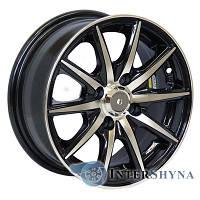 Литые диски Sportmax Racing SR-3105 5.5x13 4x98 ET25 DIA58.6 Black polished (Черный с полированной лицевой частью)