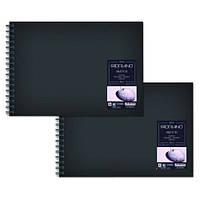 Альбом для ескізів Sketch Book А5 (14,8х21 см) 110 г/м.кв. 80 аркушів в твердій обкладинці на спірал