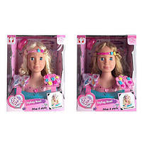 Лялька-манекен (голова для зачісок) арт. 888