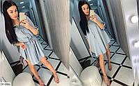 Платье женское ткань софт свободное модное