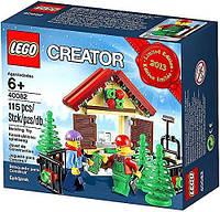 LEGO CREATOR CHRISTMAS 40082 Christmas Tree Stand Рождественская ярмарка елок