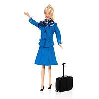 Коллекционная Игровая Кукла Барби Кукла KLM стюардесса, Barbie Doll