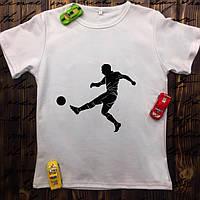 Мужская футболка с принтом - Футбол