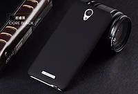Чехол накладка бампер для Xiaomi Redmi Note 2 чёрный