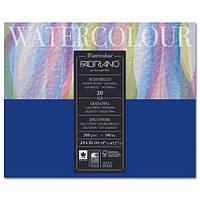 Альбом для акварелі Watercolour 24х32 см 300 г/м.кв. 20 аркушів склейка з 4 сторін (FABRIANO Італія)