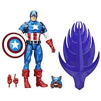 Ігрова Фігурка-конструктор Капітан Америка, Легенди Марвел, 15 см - Build a Figure, Red Skull Series, Hasbro