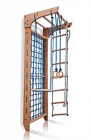Гладиаторская сетка для дома, спортивный детский комплекс-уголок, турник, канат, кольца 220х80 см B8-220