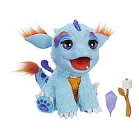 Детская Интерактивная игрушка Огнедышащий Дракон Милый Дракоша пламя(пар), зефир - Torch FurReal Friends Hasbro