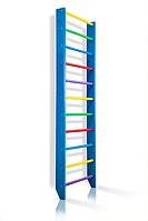 Деревянная Спортивная Шведская стенка для дома для детей и взрослых до 120кг - 80х240см разноцветный