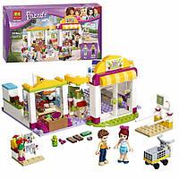 Детский Развивающий Конструктор для девочек Bela Friends Супермаркет Хартлейк Сити, 318 деталей арт. 10494