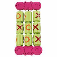 Игровой модуль Крестики-нолики для детской площадки, цветной 28х58,2х7,7 см