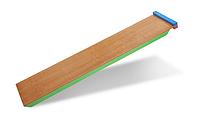 Детская горка деревянная для шведской стенки 30х150 см