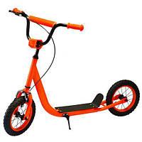 Самокат для детей и подростковScooter с ручным тормозом арт. 2-046-OR