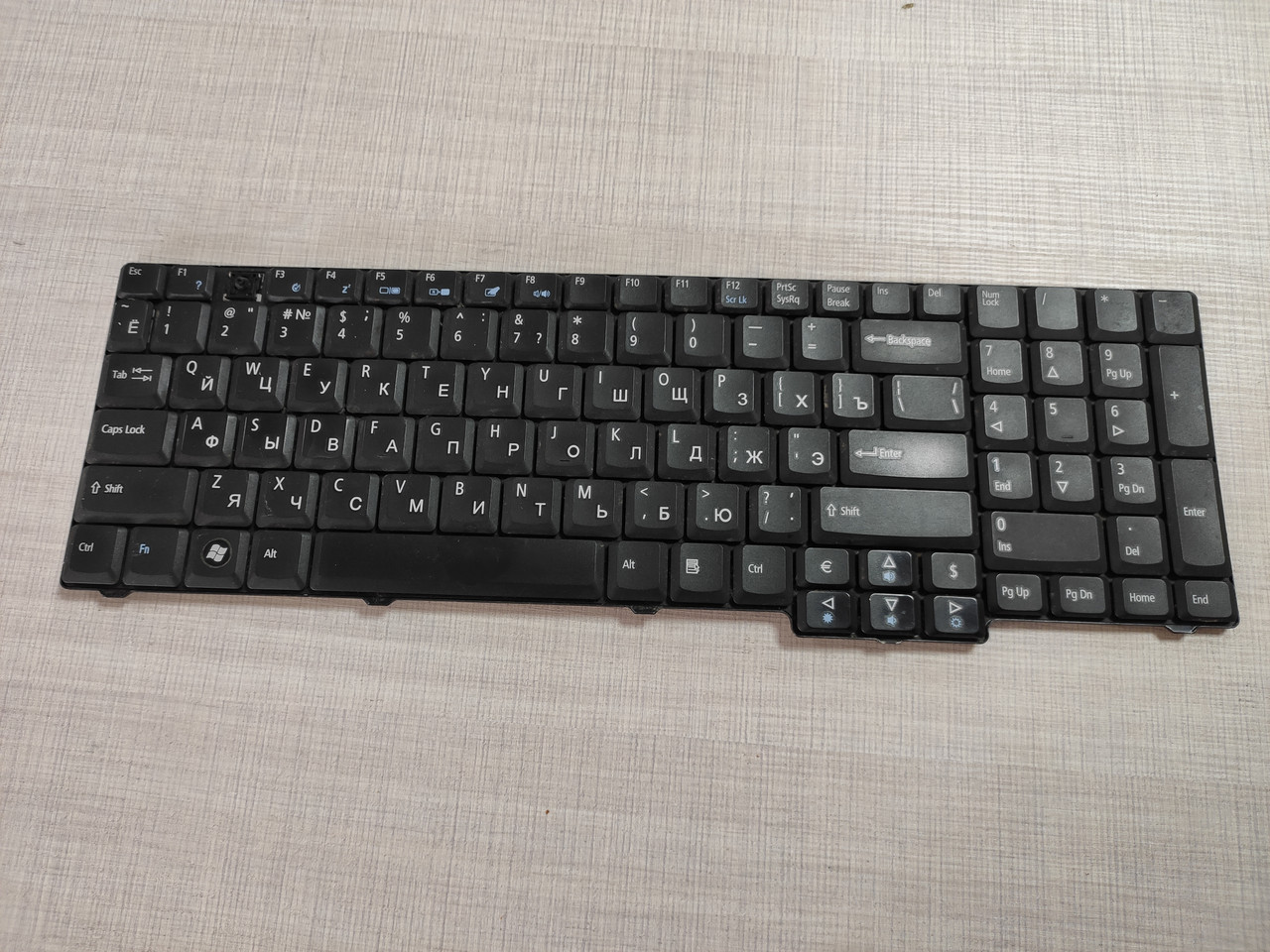 Клавиатура б\у Aсer 7620, 7620G, 7620Z, 7630 NSK-AFE0R