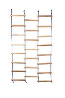 Веревочная подвесная Лестница Лиана для детей для Спортивных уголков и Шведских стенок из дерева 120х180 см