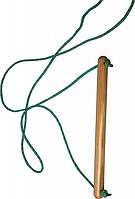 Деревянная Гимнастическая Трапеция для спортивных игровых комплексов, шведской стенки нагрузка 80 кг 180х40 см