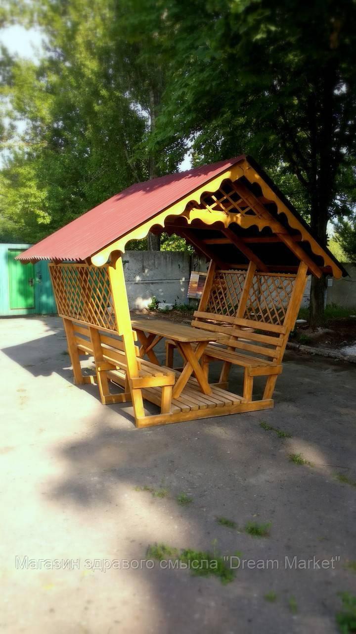 """Деревянная беседка """"Стандарт""""/Альтанка"""