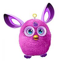 Детская Интерактивная игрушка Ферби Коннект Фиолетовый англоговорящий с повязкой для сна Hasbro Furby Connect