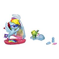 Оригинальный игровой набор от Hasbro Подводный парусник Радуги Дэш Моя Маленькая Пони My Little Pony