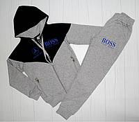 Спортивный костюм серый на рост 128 см, 140 см, 152 см, 164 см, 176 см (003481) 128 см