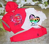 Спортивный костюм на девочку 6, 12 лет Венгрия (IA88038) 12 лет