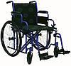 Усиленная инвалидная коляска шириной 50 см