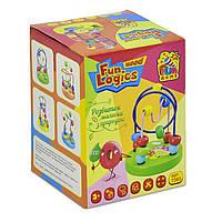 Детская Развивающая Игрушка для детей Деревянный Пальчиковый Лабиринт FUN GAME, упаковка 9х9х12 см, арт. 7363