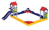 Большая Игровая Спортивная Площадка Песочница Клуб веселья для детей от 6 до 12 лет, до 80 кг, 450х370�