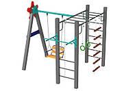 Детский игровой деревянный спортивный Комплекс Все сразу для детей от 12 лет, для улицы, 278х256х251 см
