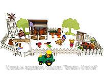 """Кукольная мебель для кукол до 20 см для кукольных домиков серии Солнечная дача - набор """"Веселое Ранчо"""" (1201)"""