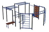 Оборудование для спортивных уличных площадок спортивный комплекс для детей от 14 лет WorkOut 2 620х610х240 см