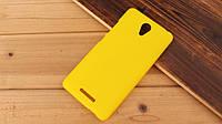 Чохол накладка на бампер для Xiaomi Redmi Note 2 жовтий, фото 1