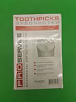 Зубочистка в упаковке  (1000шт),  PRO, 1000 шт\пач