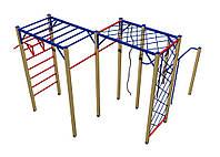 Оборудование для спортивных уличных площадок спортивный комплекс для детей от 12 лет Скалолаз 410х390х210 см