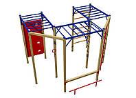 Оборудование для спортивных уличных площадок спортивный комплекс для детей от 12 лет Корабль 390х350х260 см