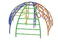 Элемент оборудования для спортивных уличных площадок Комплекс-рукоход Сфера Семь элементов 362х344х169 см