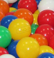 Разноцветный наполнитель для сухих игровых бассейнов в детские игровые комнаты, дома или квартиры шарики 8см