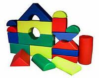 Игровой мягкий Модульный конструктор МАХ для детей от 1 года, 21 элемент для дома, игровых центров, школ