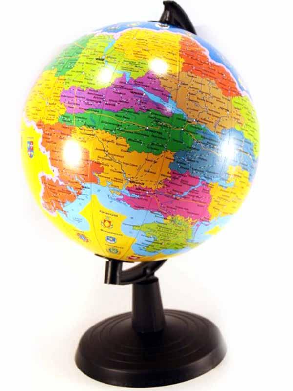 Глобус Украины 22см (сувенирный)