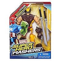 Игрушка-конструктор Росомаха Hasbro, Марвел, Люди Икс - Marvel Super Hero Mashers Wolverine Figure